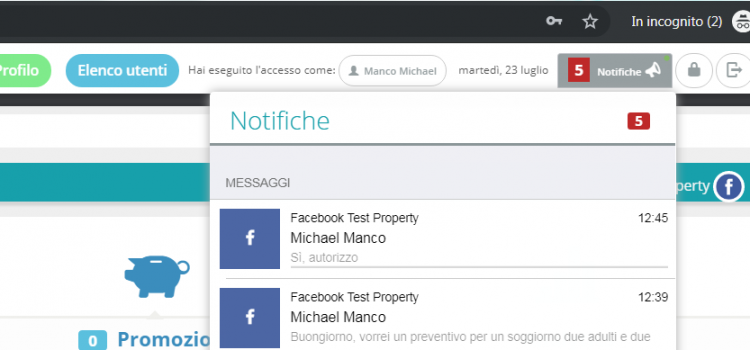 La booking automation sbarca su Facebook!